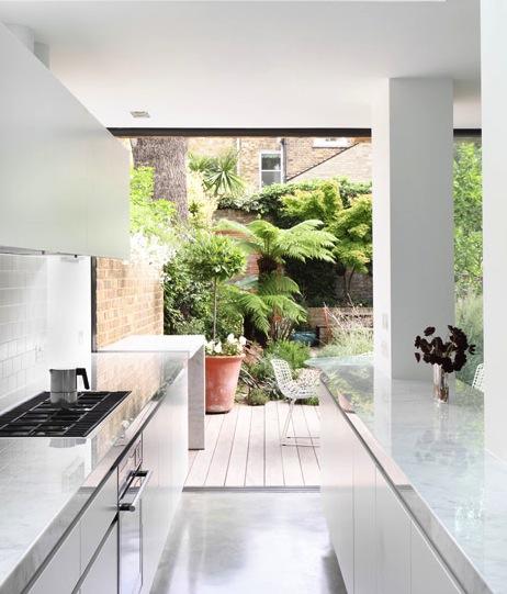 Baie vitrée cuisine Jimi-house-Paul-Archer-Design