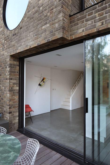 Baie vitrée details Jimi-house-Paul-Archer-Design