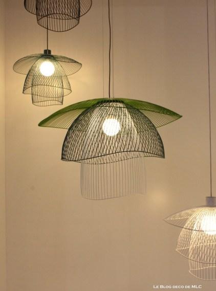 luminaires suspension couleur Elise Fouin Forestier