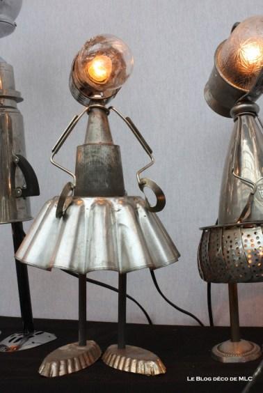 lampe ustensile de cuisine danseuse