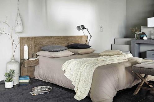 tete de lit bois Baltic - maison du monde