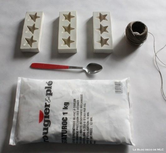 diy-deco-noel-a-fabriquer-guirlande-etoile-platre-materiel