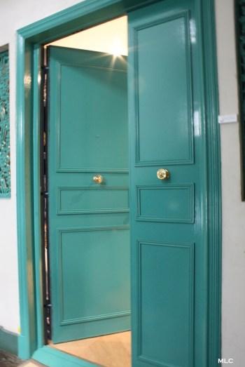 porte-entree-vert-turquoise