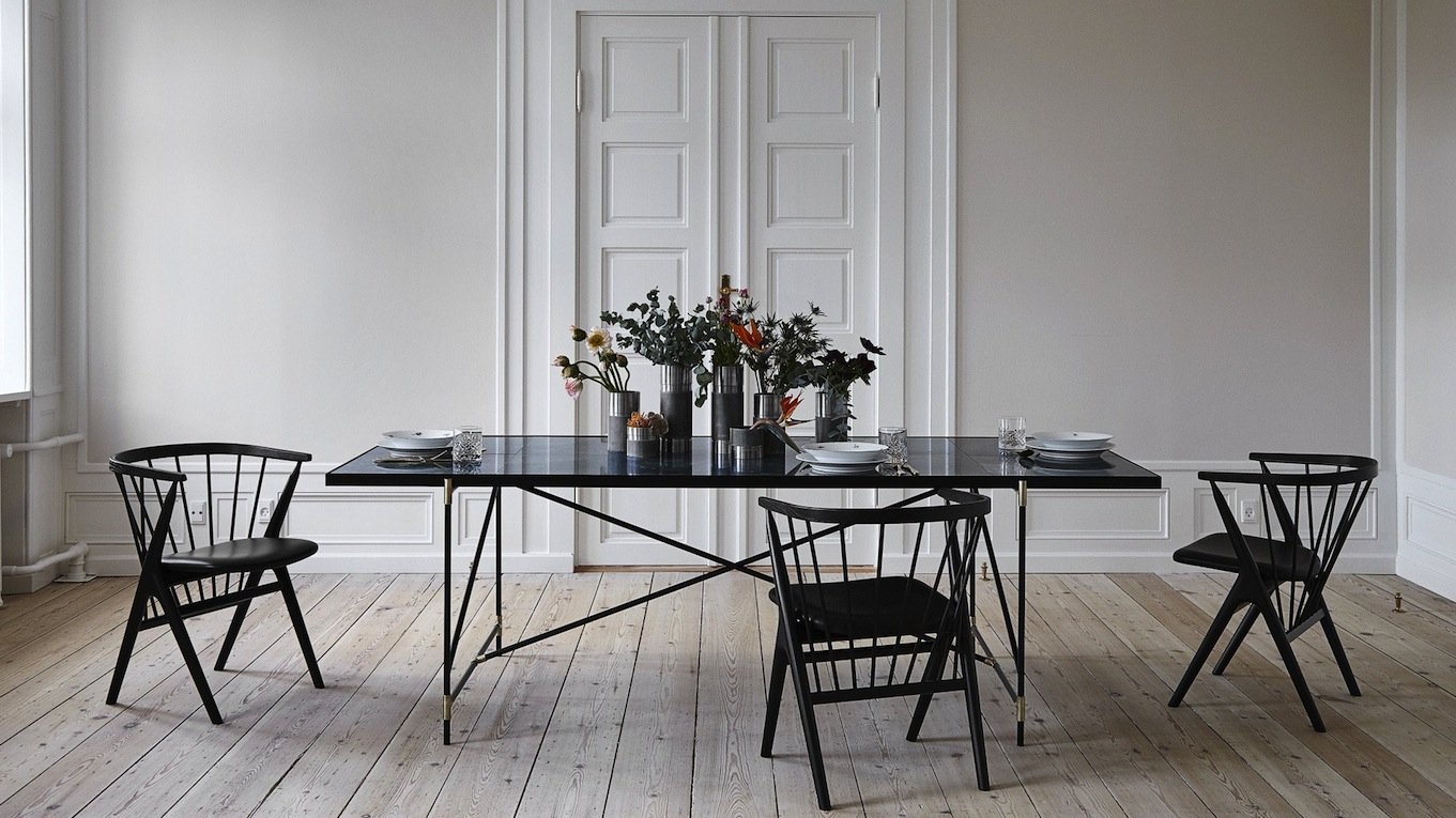 Belle table de salle manger et de bureau blog d co de mlc - Table salle a manger plateau marbre ...