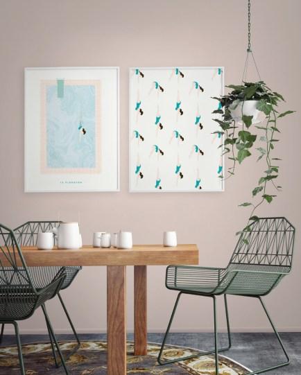 joli-poster-mur-fille-wall-summer-papermint