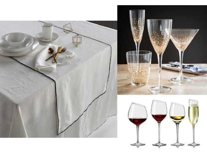 table-de-noel-selection-verre-a-vin-champagne