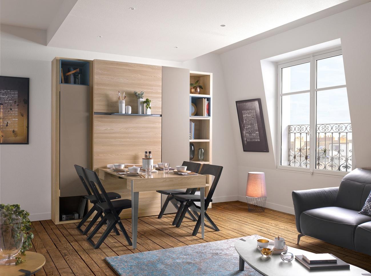 Gain De Place Meuble le lit escamotable armoire par les meubles gautier – le blog