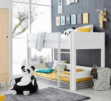 trendy quel lit mezzanine lit hauteur enfant choisir with lit baldaquin fait maison. Black Bedroom Furniture Sets. Home Design Ideas
