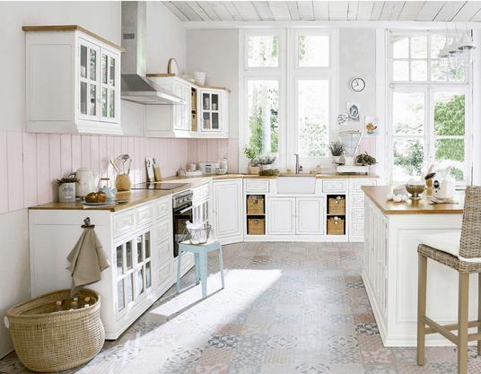cuisine blanche maison du monde