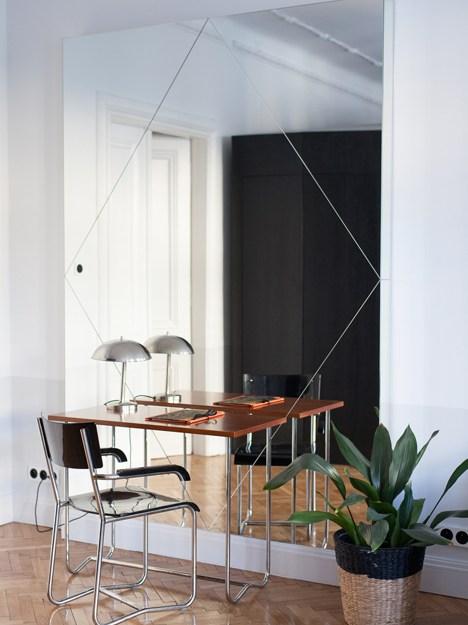 Grand Miroir Fenetre Rectangulaire Agrandir Salon Le Blog Déco De Mlc