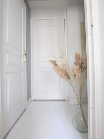 parquet-blanc-peint-deco-entree