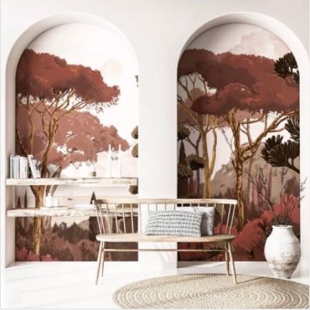 papier-peint-panoramique-poser-fond-etagere-bibliotheque