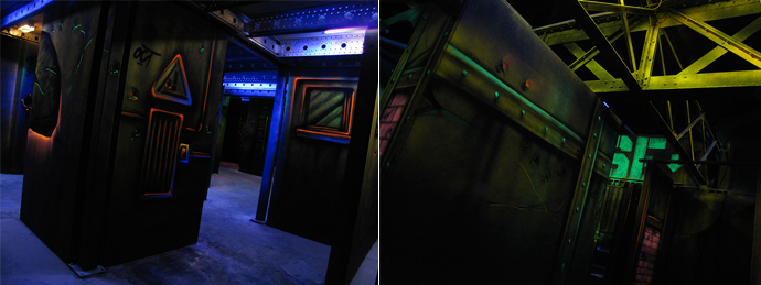 Une Partie De Laser Game Courbevoie