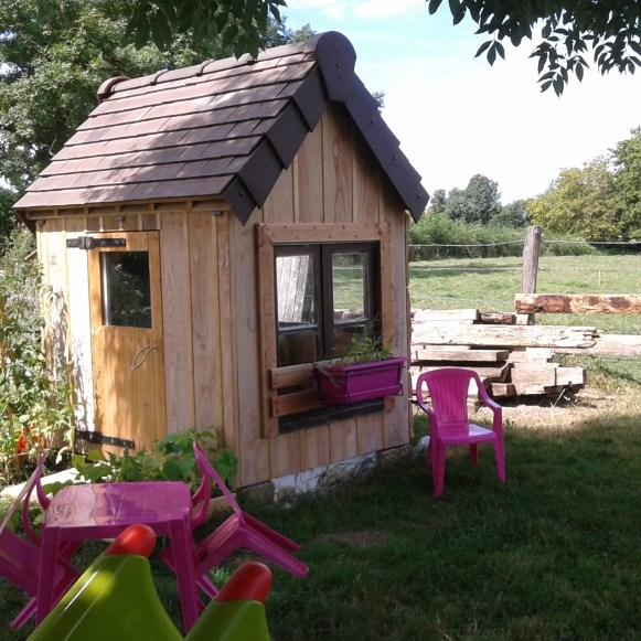 Cabane en bois de Chloé