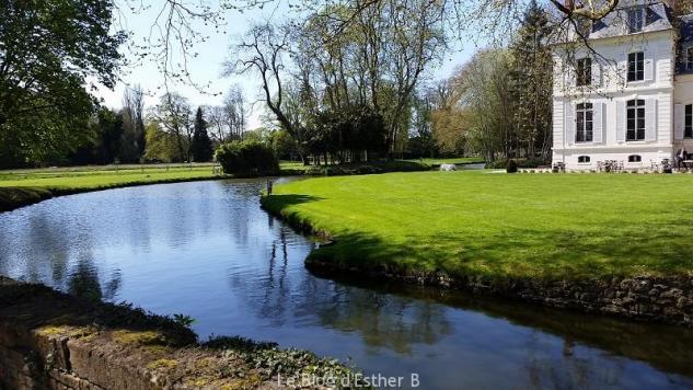 Superbe parc du Château Saint Just