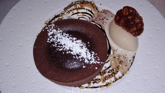 fondant chocolat