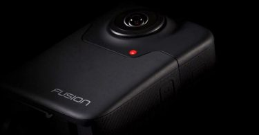 GoPro Fusion action cam 360 degrés