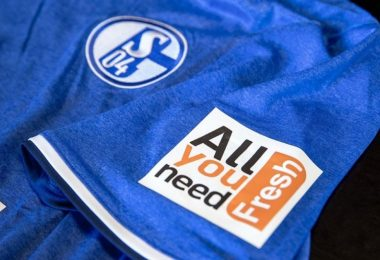 Schalke maillot de foot intelligent
