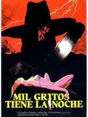 Affiche du film LE SADIQUE À LA TRONÇONNEUSE - Mil Gritos Tiene La Noche