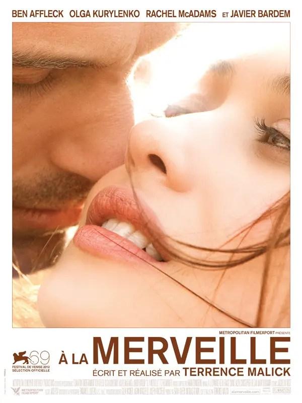 Affiche du film À LA MERVEILLE