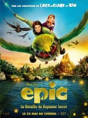 Affiche du film EPIC - LA BATAILLE DU ROYAUME SECRET