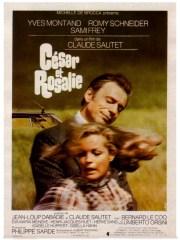 Affiche du film CESAR ET ROSALIE