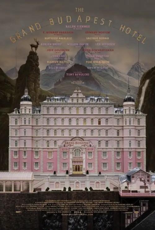 Affiche du film THE GRAND BUDAPEST HOTEL