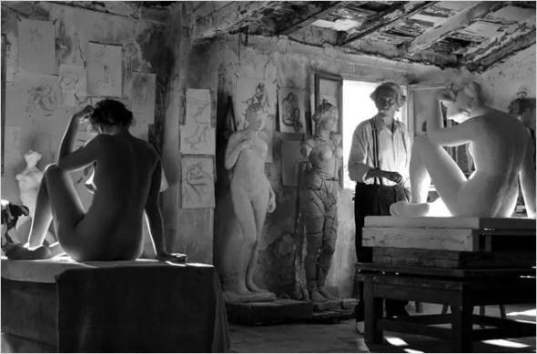 Photo du film L'ARTISTE ET SON MODÈLE