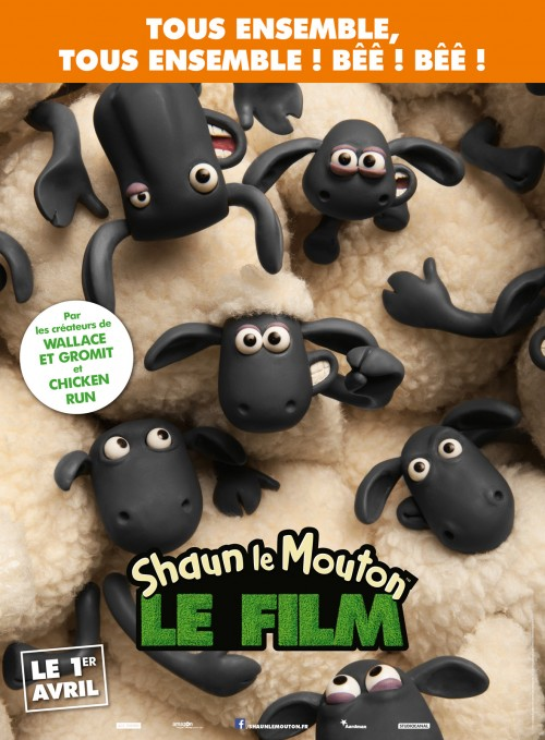 1 avril 2015 - Shaun le mouton le film