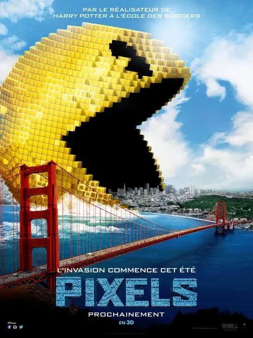 22 juillet 2015 - Pixels