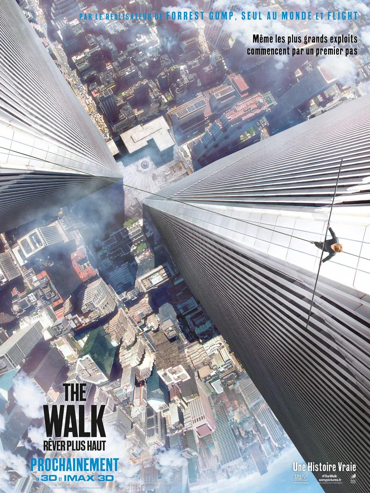 Affiche du film THE WALK
