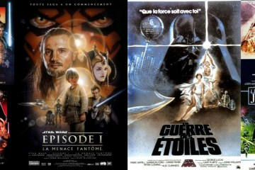 montage affiches Star Wars