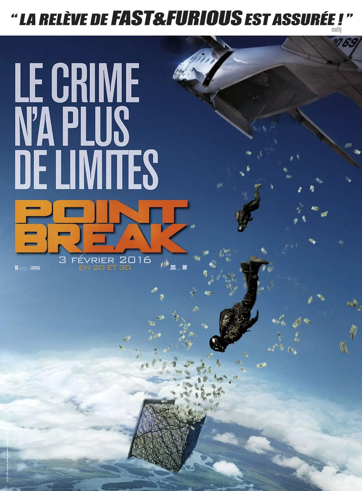 Affiche du film POINT BREAK