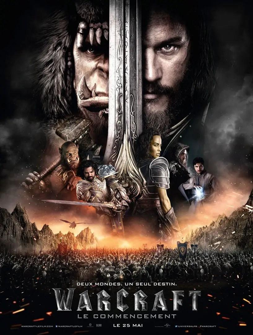 affiche Warcraft