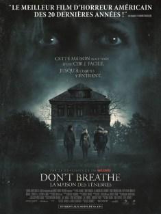 affiche Don't Breathe