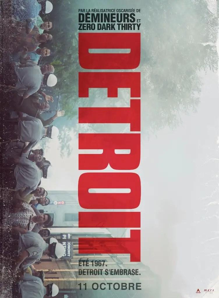 L'affiche de DETROIT de Kathryn Bigelow