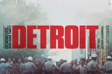 l'affiche de Detroit de Kathryn Bigeloww