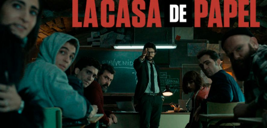 Photo de la série LA CASA DE PAPEL