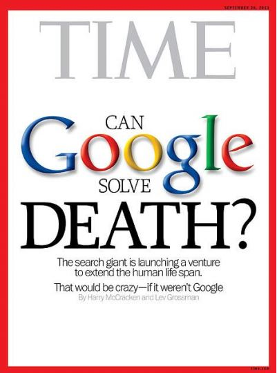 Transhumanisme - Time cover