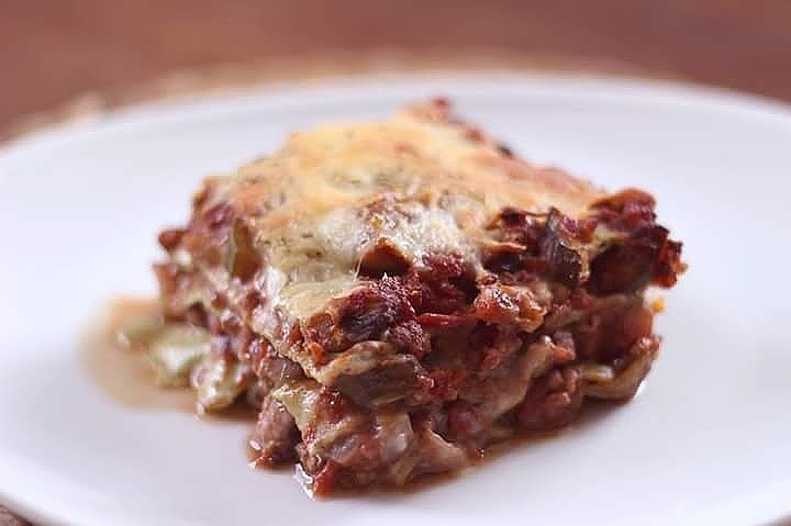 Bonsoir les beauts!!! Nous y voil la fameuse lasagne quihellip