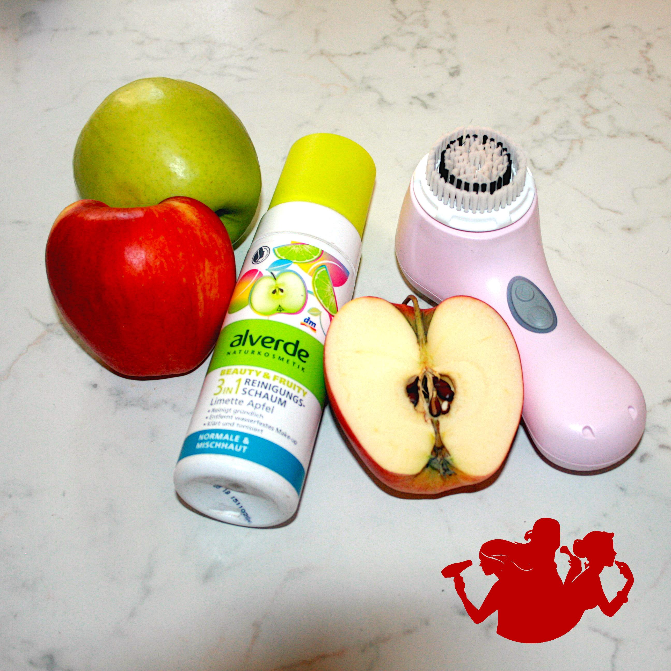Mousse detergente 3 in 1 lime e mela – Alverde