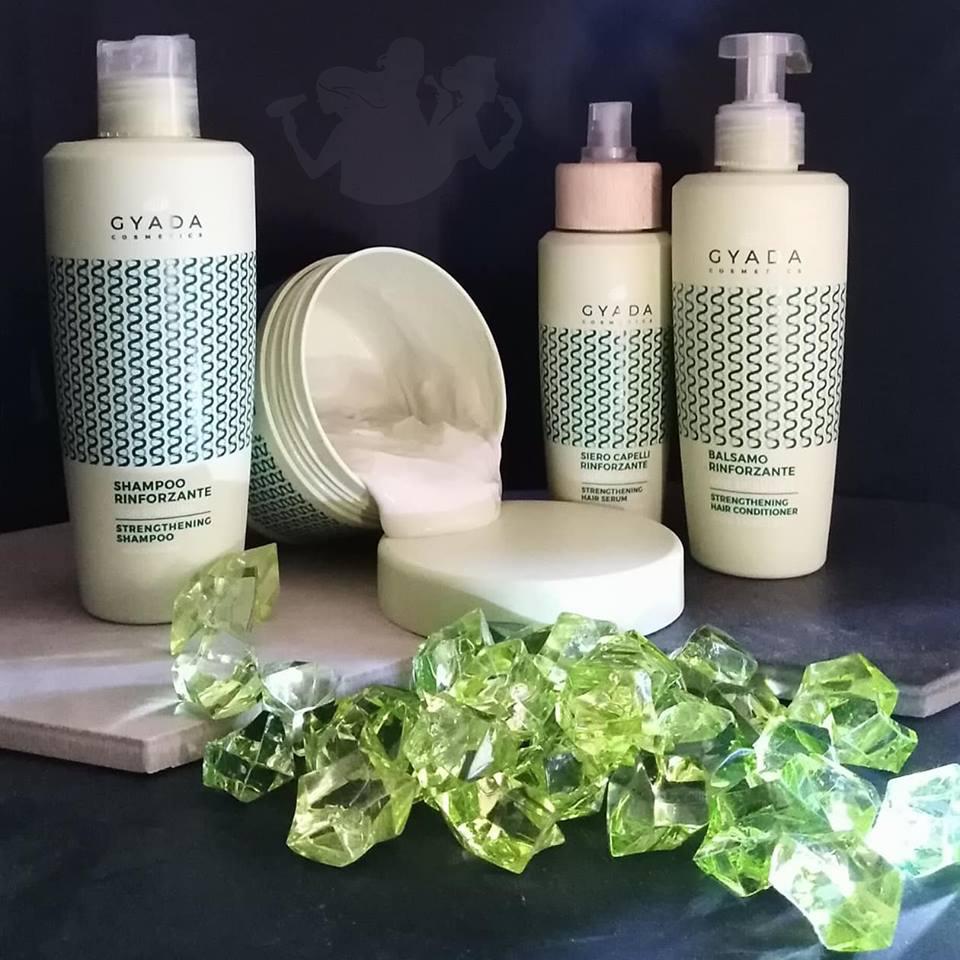 Linea capelli rinforzante con spirulina – Gyada
