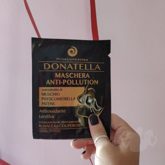 Donatella maschera anti pollution – My Sezione Aurea