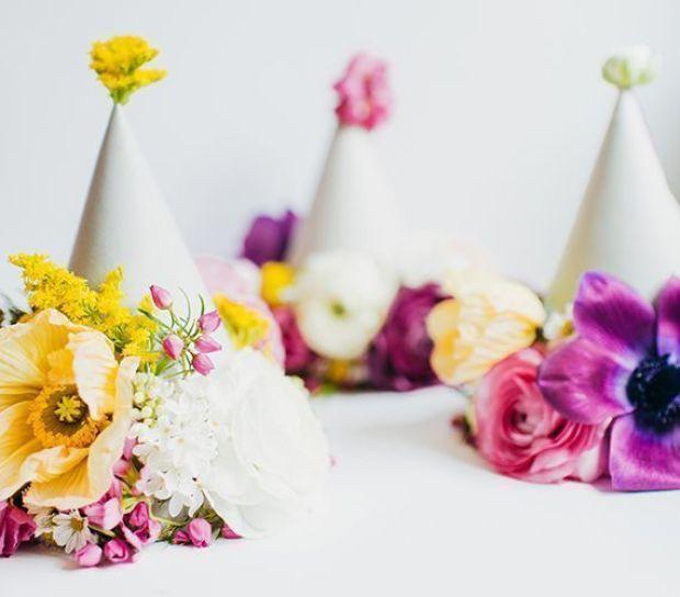 DIY-floral-party-hats-5