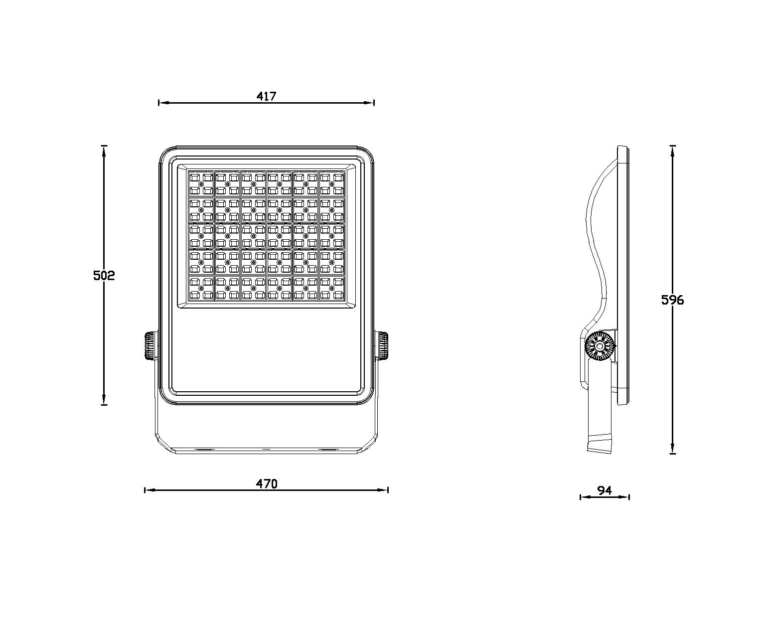 New Design Outdoor Led Flood Light 100w 250w