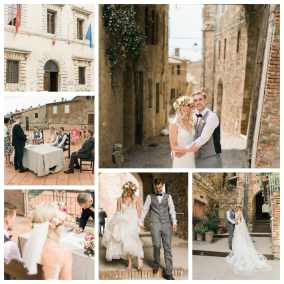 Wedding in Tuscany,Radicondoli Siena