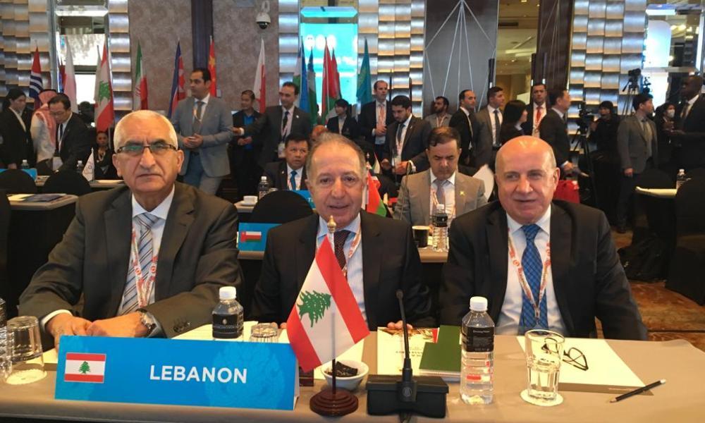 وفد الأولمبية هنأ أحمد الفهد بإعادة إنتخابه لولاية جديدة وخوري بتجديد الثقة في المكتب التنفيذي