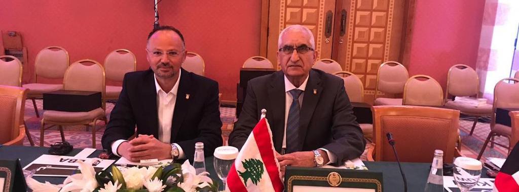 وفد الأولمبية اللبنانية شارك في العمومية الطارئة لإتحاد التضامن الإسلامي في جدة السعودية