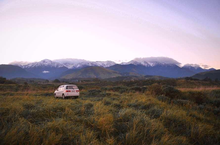 Camping Kaikoura gratuit Nouvelle-Zélande