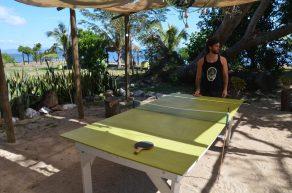 Ping Pong Battle au Vatia Beach
